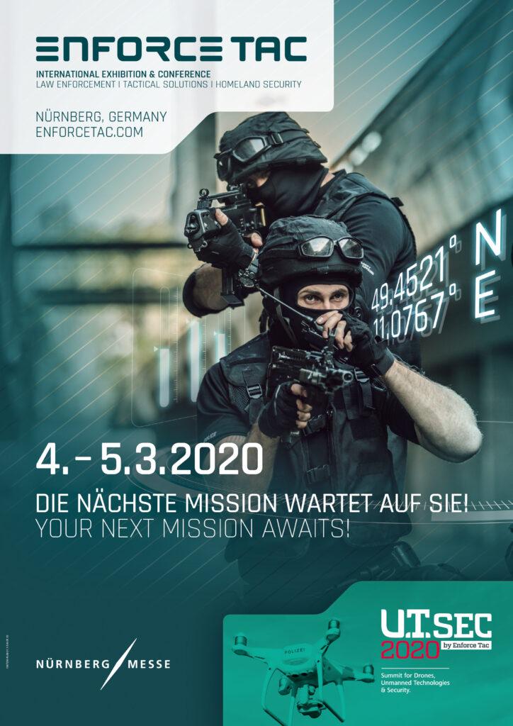 Plakat Enforce Tac 2020