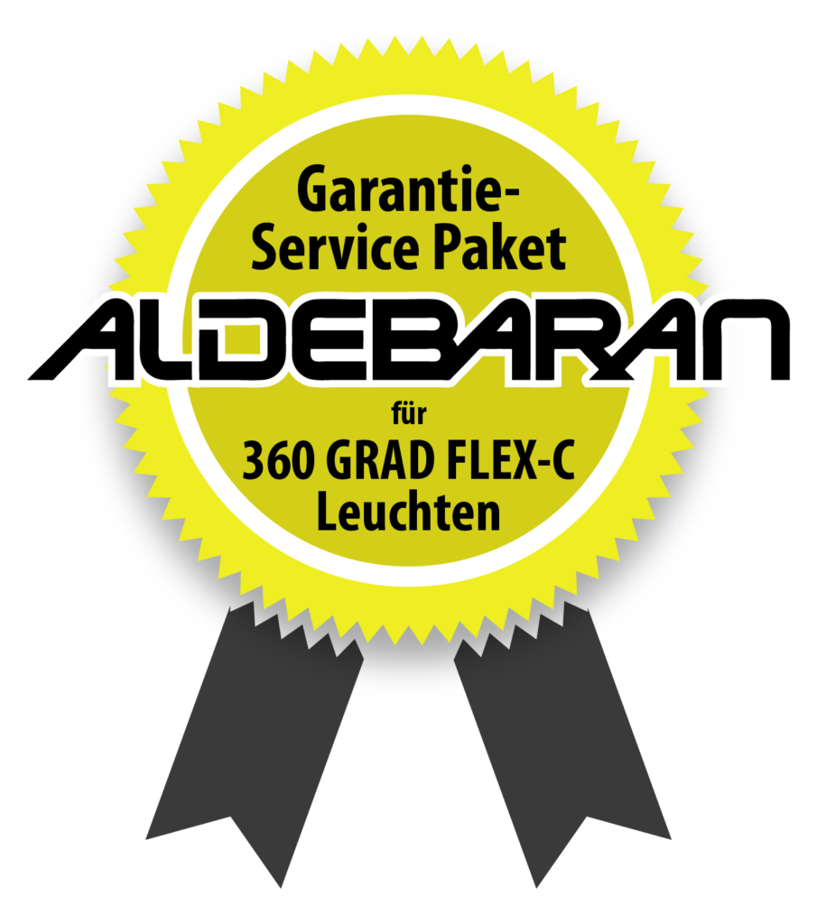 Garantie-Paket für ALDEBARAN 360 GRAD FLEX Leuchten